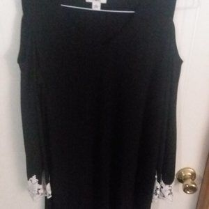 Ladies Large Cato Tunic/Dress with lace trim